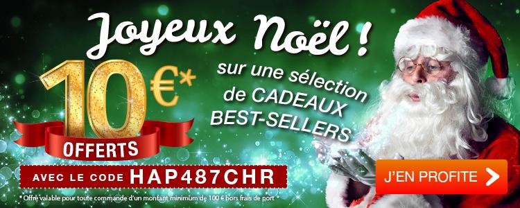 10 € OFFERTS sur vos achats de Noël