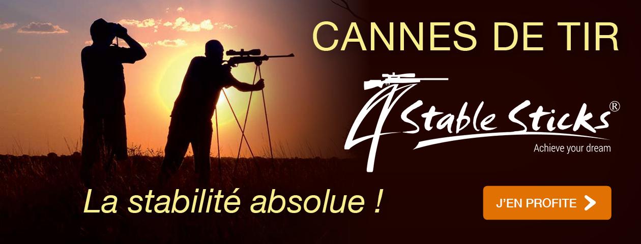 Cannes de tir 4 STABLE STICKS