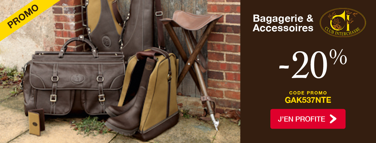 Promo -20% Bagagerie & Accessoires CLUB INTERCHASSE