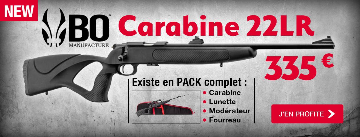 Carabine 22LR BO Manufacture