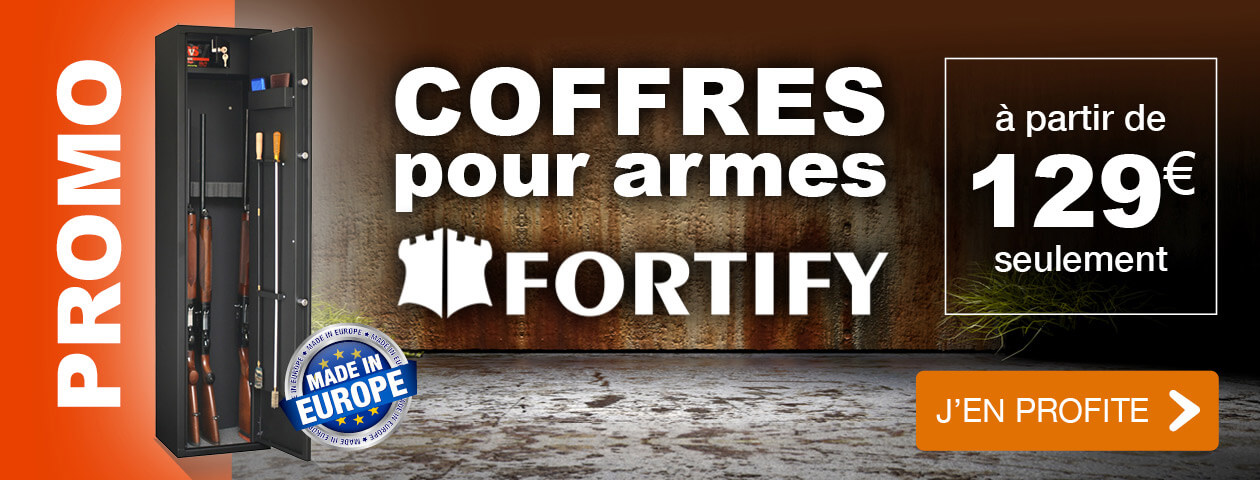 PROMO Coffres pour armes FORTIFY