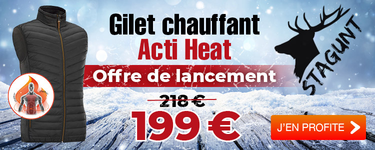 ANTIFROID ! Gilet chauffant Stagunt