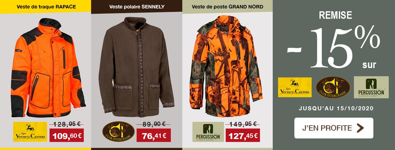 PROMO -15% Club Interchasse / Ligne Verney-Carron / Percussion