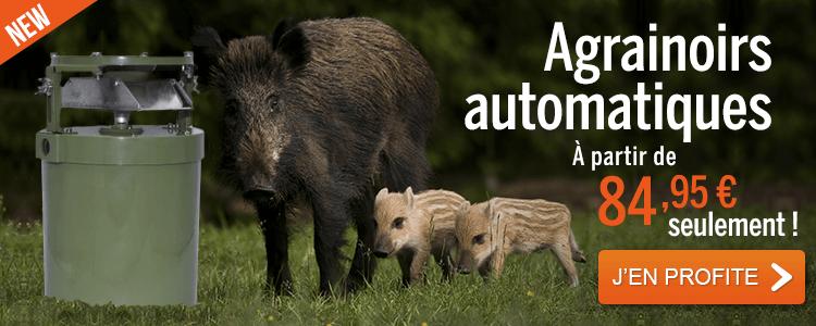 Offre de lancement Agrainoirs automatiques