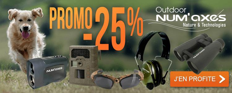 -25% Outdoor NUM'AXES
