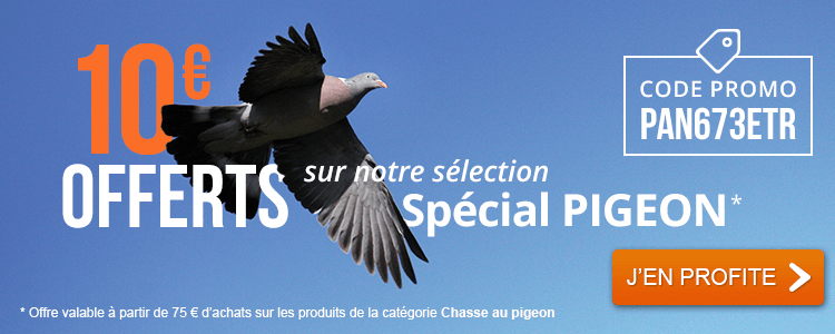 10 € OFFERTS / Sélection PIGEON