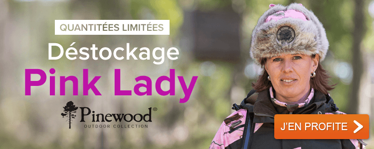 Déstockage Pink Lady Pinewood
