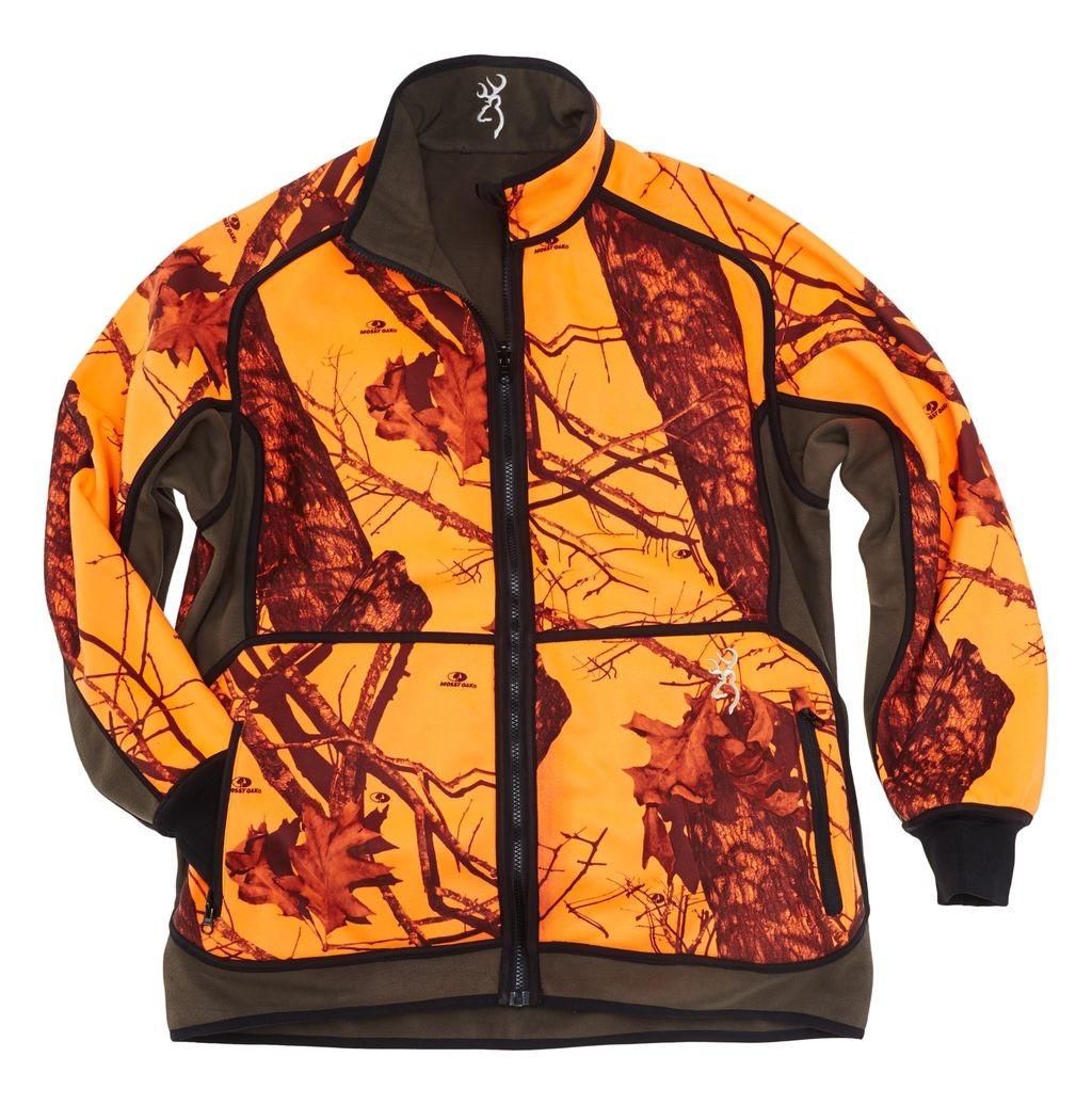 Browning Bonnet r/éversible en polaire pour la chasse Orange//vert