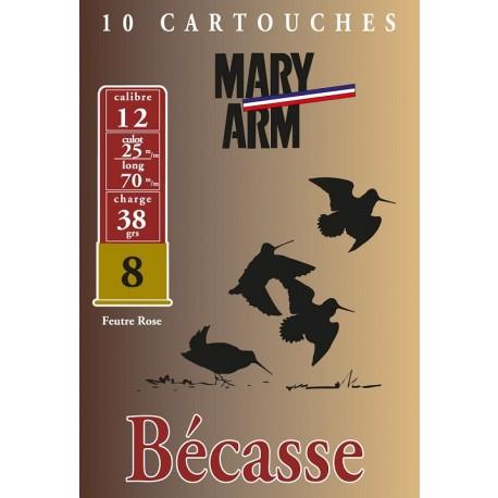 Cartouche Mary Arm Bécasse / Cal. 12 - 38 g