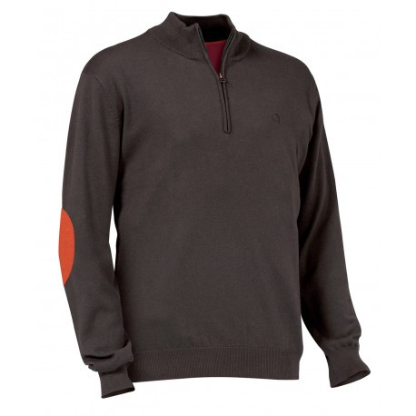 Pull de chasse Club Interchasse Winsley - Marron