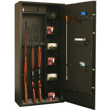 Armoire Forte Fortify Delta 12 Modulable 12 Armes 8 Armes Etageres Coffres Forts Pour Armes Longues Made In Chasse