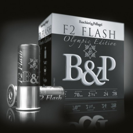 Cartouche B & P F2 Flash Olympic Edition / Cal. 12 - 28 g