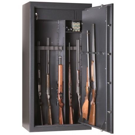 Armoire forte Infac Classic / 30 ou 20 armes + étagères