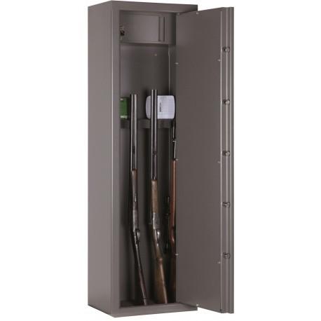 Armoire forte Infac First Protec. / 8 armes à lunettes + coffre intérieur
