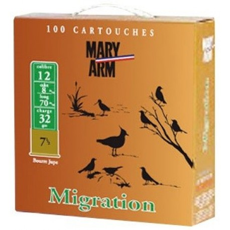 Pack 100 cart. Mary Arm Migration 32 Cal. 12 32 g