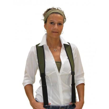 Bretelles pantalon Niggeloh néoprène / Vert