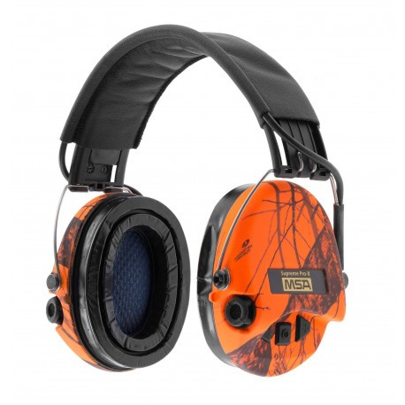 Casque antibruit MSA Supreme Pro-X Orange
