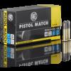 Cartouches 22 LR RWS Pistol Match