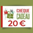 Chèque-cadeau 20 €