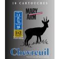 Cartouche Mary Arm Chevreuil / Cal. 12 - 38 g