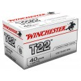 Cartouches 22 LR Winchester T22