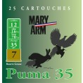 Cartouche Mary Arm Puma 35 / Cal. 12 - 35 g