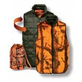 Gilet ouatiné Percussion réversible Kaki / GhostCamo B&B