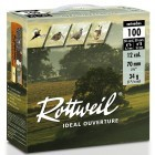 Pack 200 cart. Rottweil Idéal Ouverture / Cal. 12 - 34 g