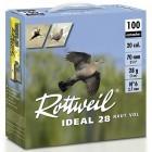 Pack 200 cart. Rottweil Idéal 28 Haut Vol / Cal. 20 - 28 g