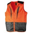 Gilet de chasse anti-ronce Somlys Orange 250N