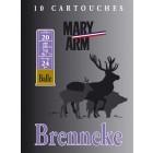 Cartouche Mary Arm Brenneke 20 / Cal. 20 - 24 g