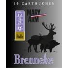 Cartouche Mary Arm Brenneke 16 / Cal. 16 - 27 g
