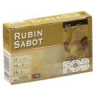 Cartouche Fob Rubin sabot / Cal. 12 - 28 g