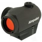 Viseur point rouge Aimpoint Micro H-1 / Réticule 2MOA