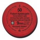 Cartouches 9 mm Flobert RWS Balle conique