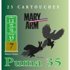 Cartouche Mary Arm Puma 35 / Cal. 12 - 35 g