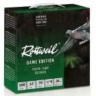 Pack 200 cart. Rottweil Game Edition Pigeon / Cal. 12 - 36 g