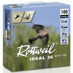 Pack 200 cart. Rottweil Idéal 36 Haut Vol / Cal. 12 - 36 g