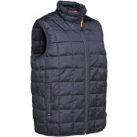 Gilet ouatiné Percussion Warm Bleu