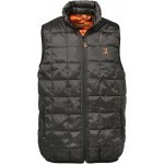 Gilet ouatiné Percussion réversible Noir / GhostCamo B&B