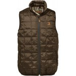 Gilet ouatiné Percussion réversible Marron / GhostCamo Wet