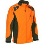 Blouson softshell Percussion Orange / Kaki - Taille S