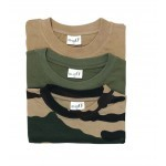 Pack 3 tee-shirts Percussion Beige - Kaki - Camo