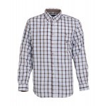 Chemise chasse Percussion Tradition Marron - Bleu