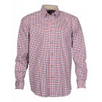 Chemise de chasse Percussion Beaugency Rouge