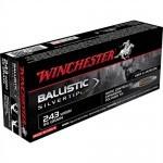 Cartouche Winchester / cal. 243 WSSM - Ballistic Silvertip 6.16 g