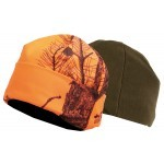 Bonnet polaire réversible Somlys 2467 Fire Black / Kaki