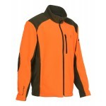 Blouson polaire Enfant Percussion Orange / Kaki