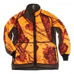 Veste de chasse Powerfleece Reversible Browning Blaze Orange/vert-XL