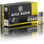 Cartouches 22 LR RWS Rifle Match